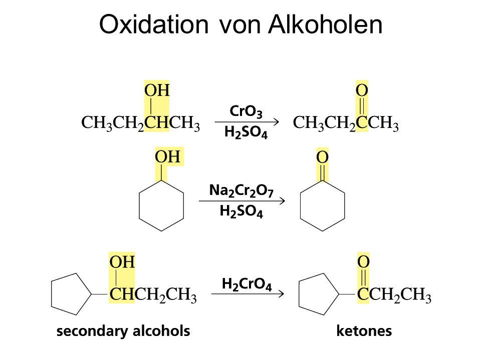 Oxidation von Alkoholen