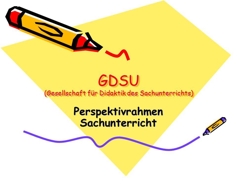 GDSU (Gesellschaft für Didaktik des Sachunterrichts)