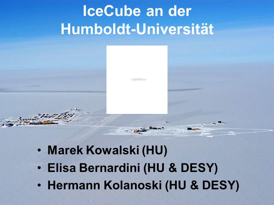 IceCube an der Humboldt-Universität