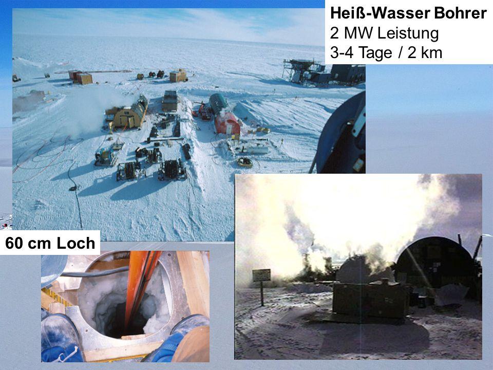 Drilling Heiß-Wasser Bohrer 2 MW Leistung 3-4 Tage / 2 km 60 cm Loch