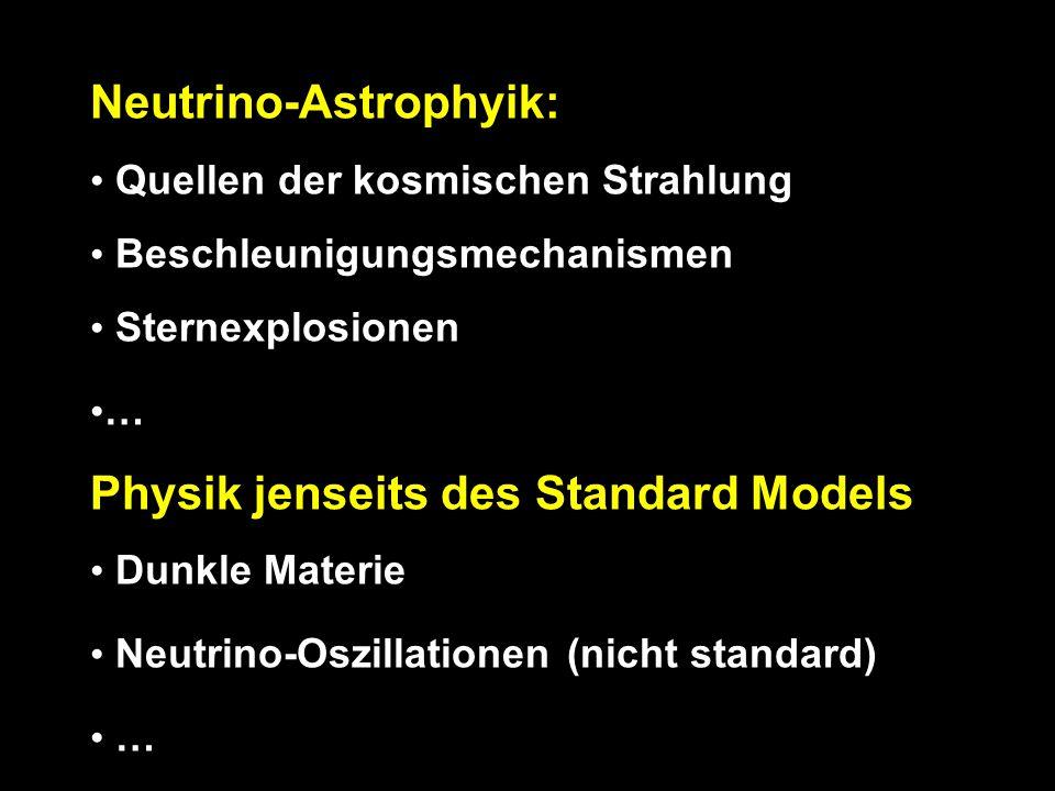 Neutrino-Astrophyik: