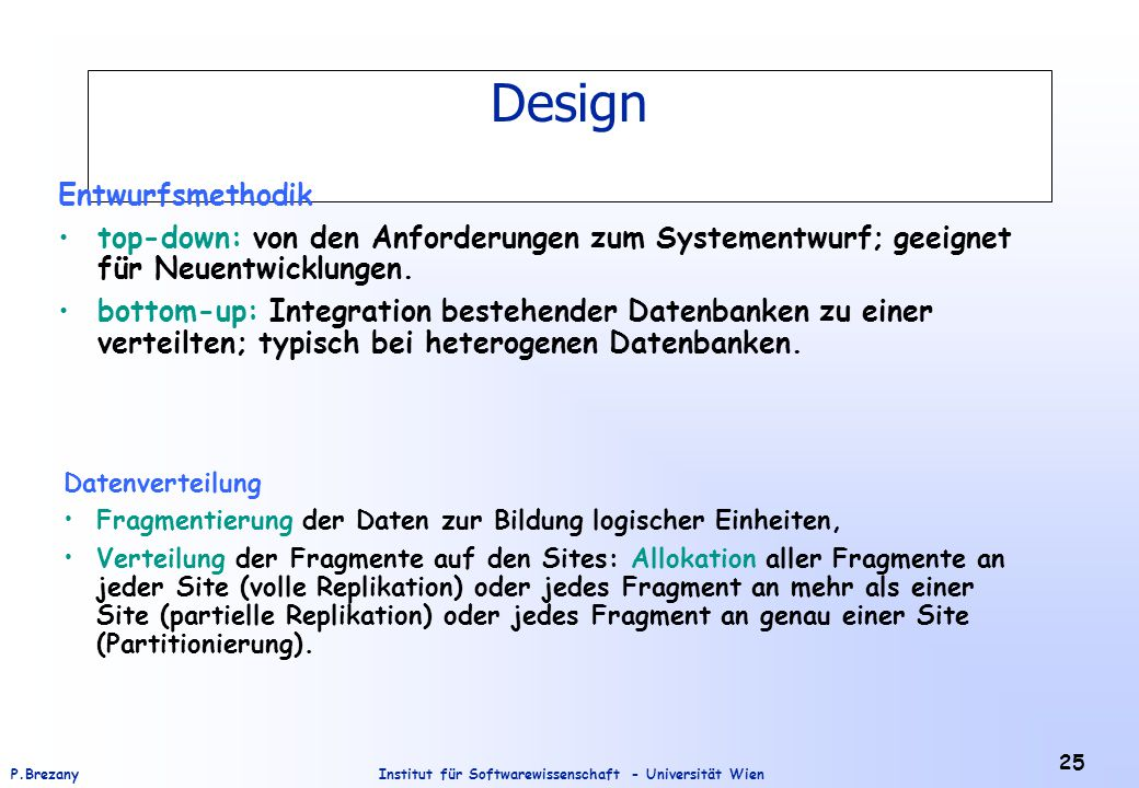 Design Entwurfsmethodik