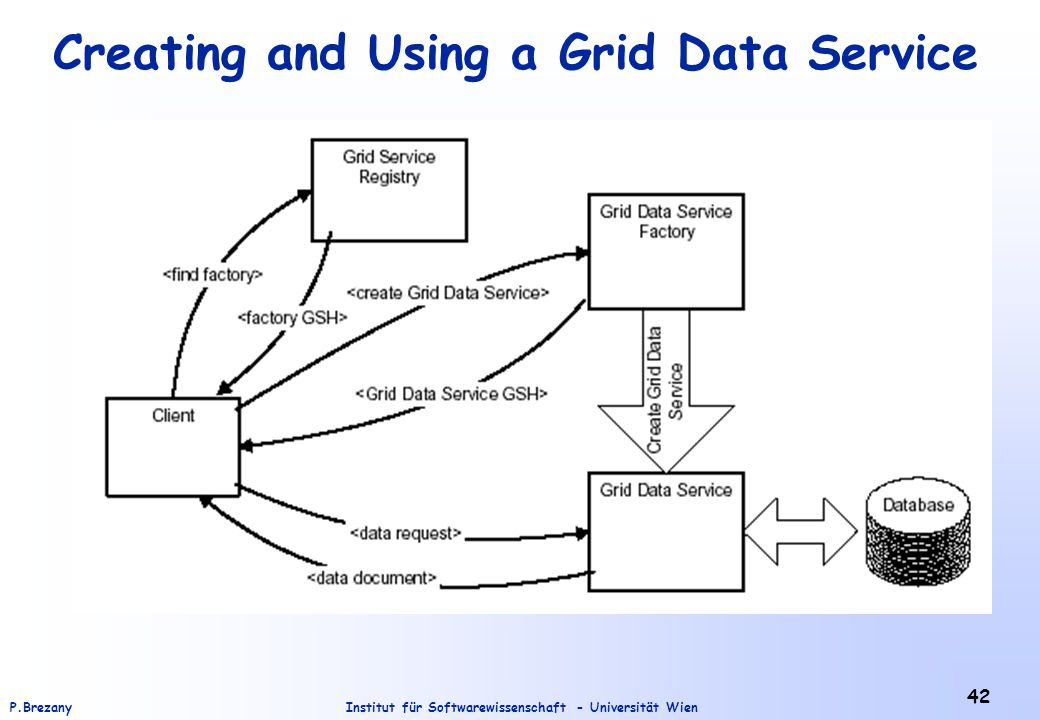 Creating and Using a Grid Data Service