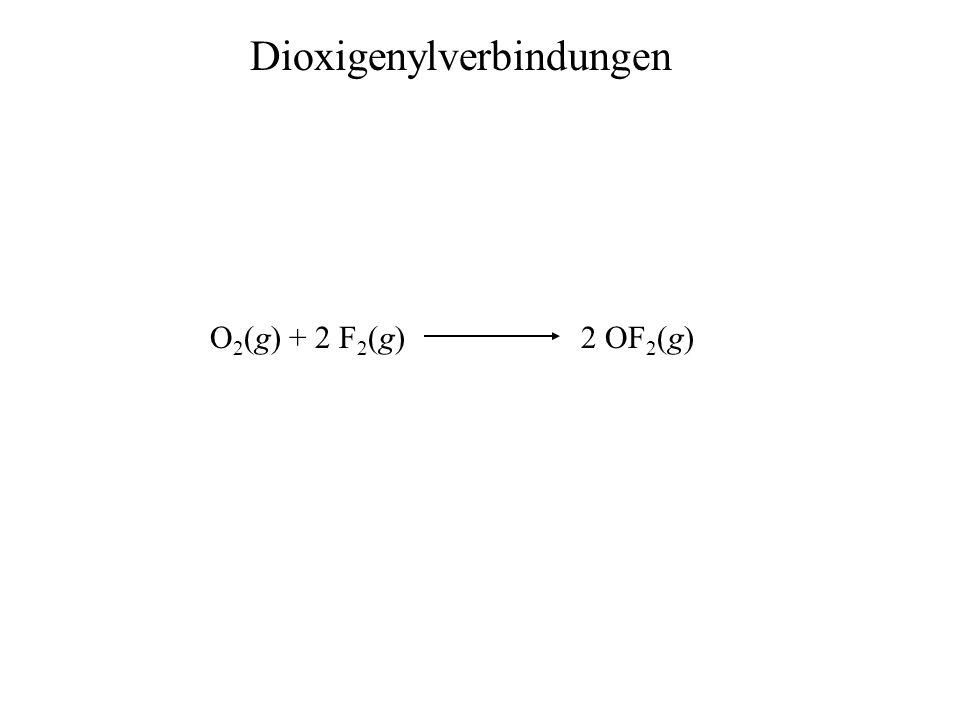 Dioxigenylverbindungen