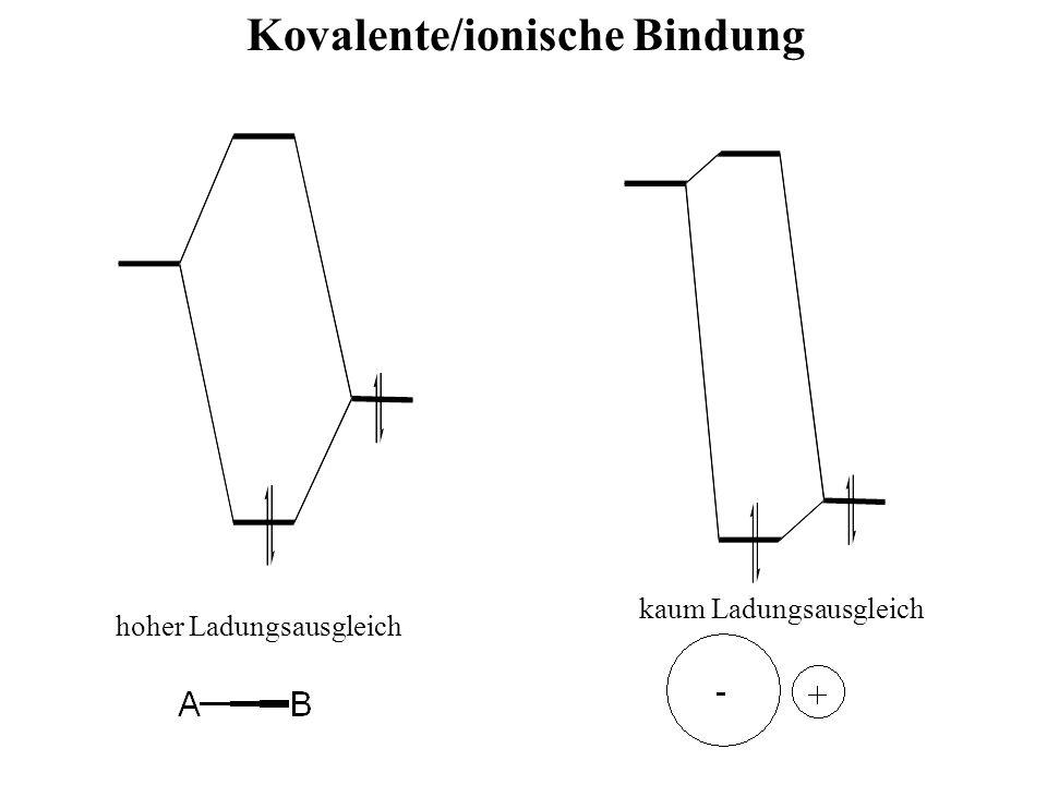 Kovalente/ionische Bindung