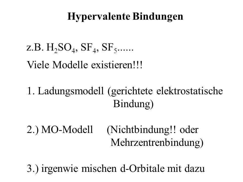 Hypervalente Bindungen