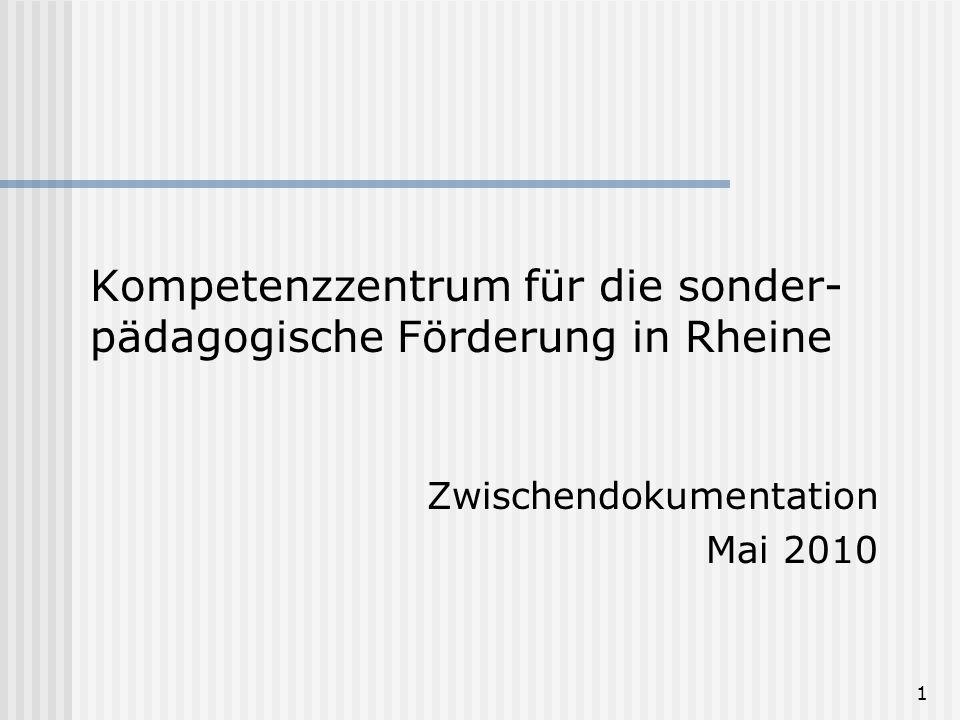 Kompetenzzentrum für die sonder-pädagogische Förderung in Rheine