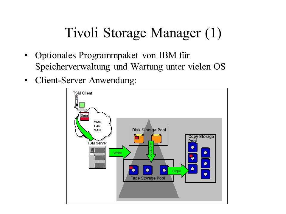 Tivoli Storage Manager (1)