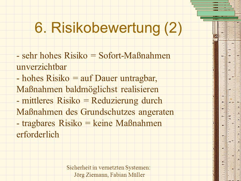 6. Risikobewertung (2)