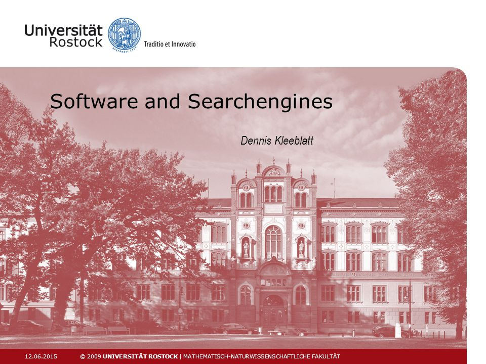 Software and Searchengines