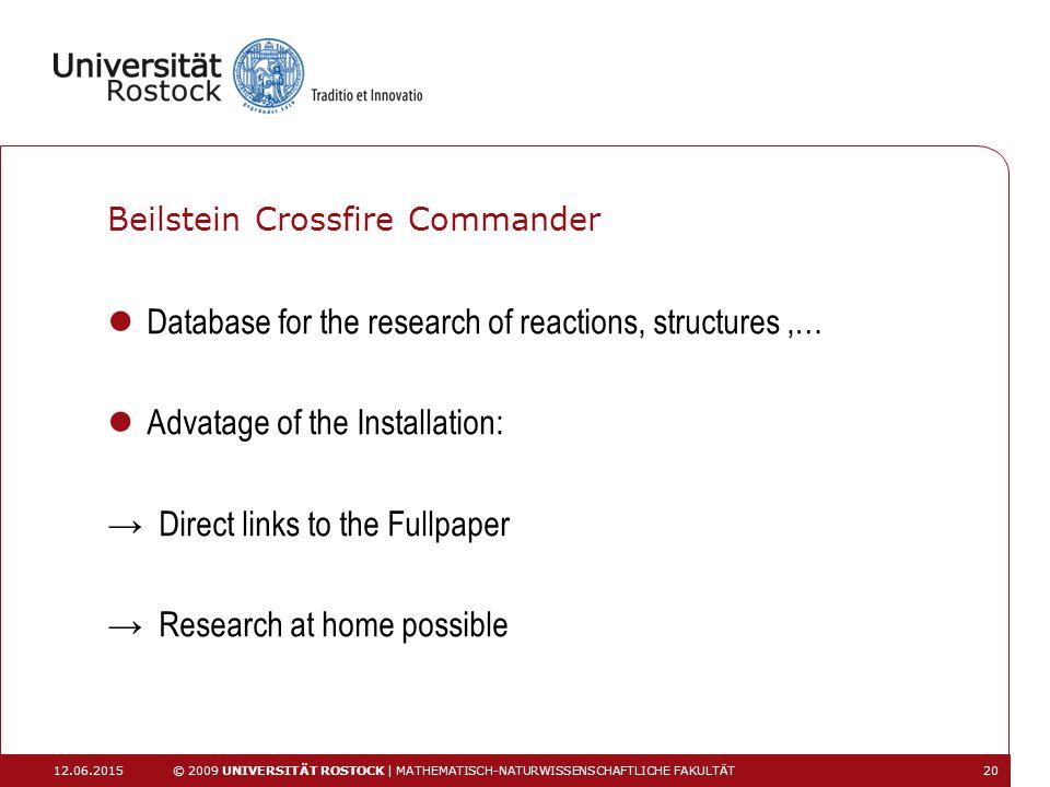 Beilstein Crossfire Commander