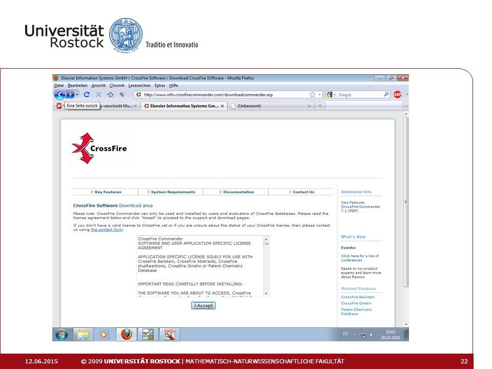 16.04.2017 16.04.2017. © 2009 UNIVERSITÄT ROSTOCK | MATHEMATISCH-NATURWISSENSCHAFTLICHE FAKULTÄT.