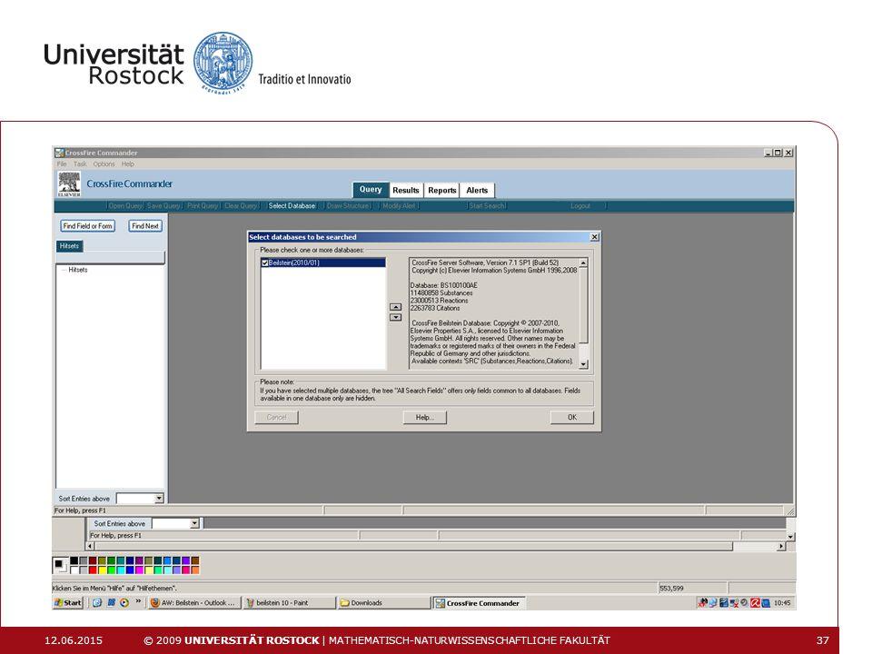 16.04.2017 © 2009 UNIVERSITÄT ROSTOCK | MATHEMATISCH-NATURWISSENSCHAFTLICHE FAKULTÄT