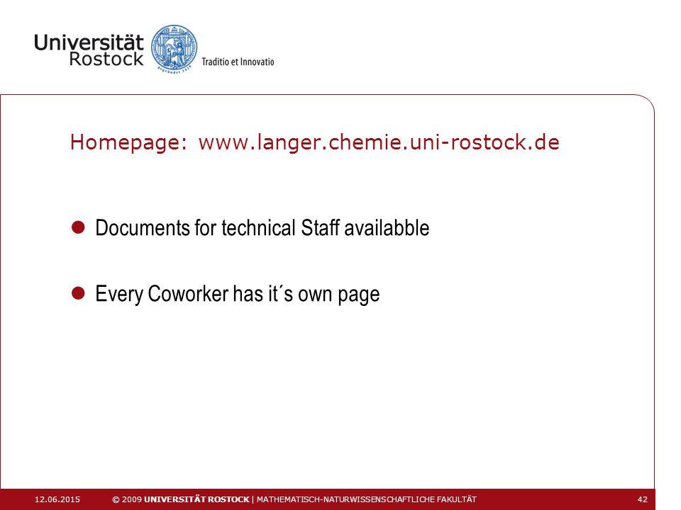 Homepage: www.langer.chemie.uni-rostock.de