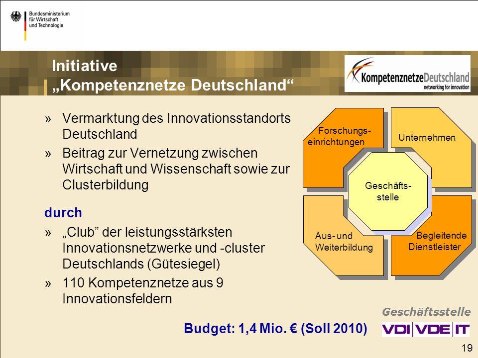"""Initiative """"Kompetenznetze Deutschland"""