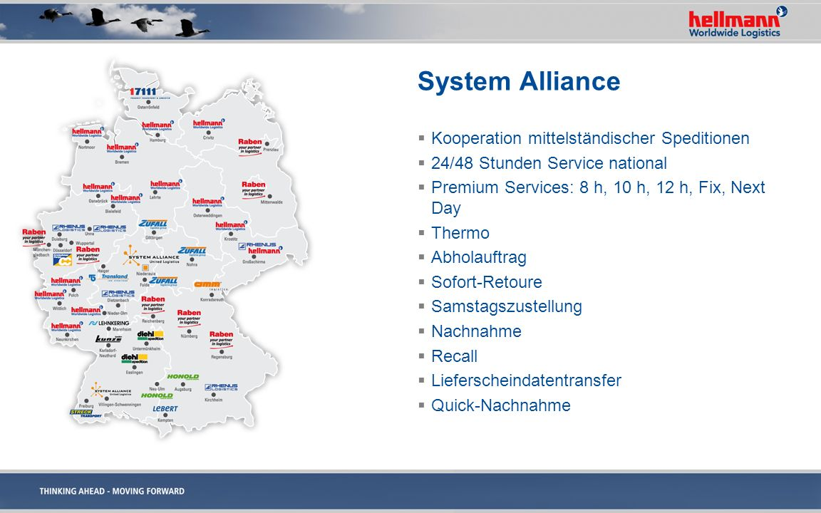 System Alliance Kooperation mittelständischer Speditionen