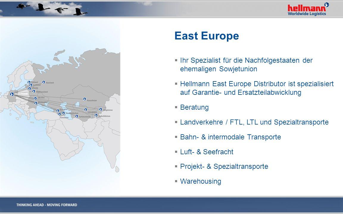 East EuropeIhr Spezialist für die Nachfolgestaaten der ehemaligen Sowjetunion.