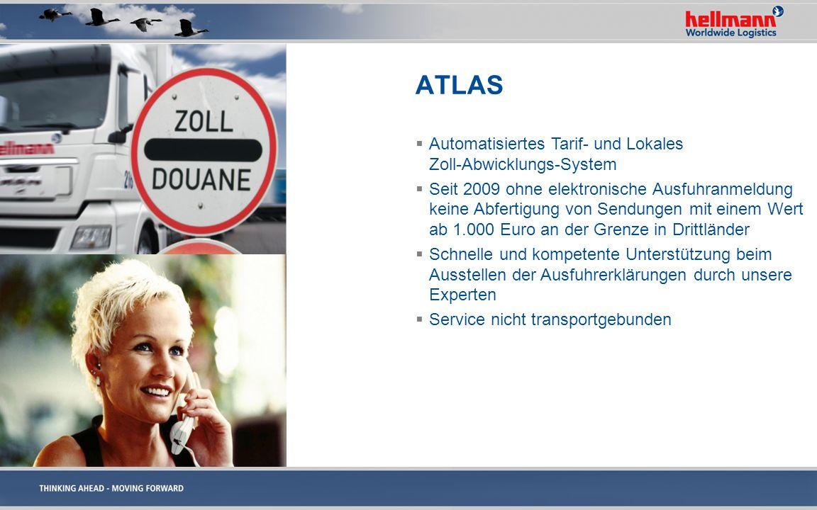 ATLAS Automatisiertes Tarif- und Lokales Zoll-Abwicklungs-System