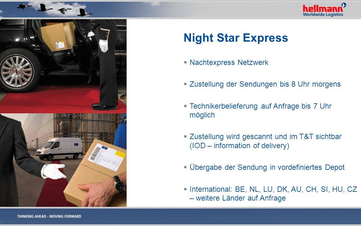 Night Star Express Nachtexpress Netzwerk