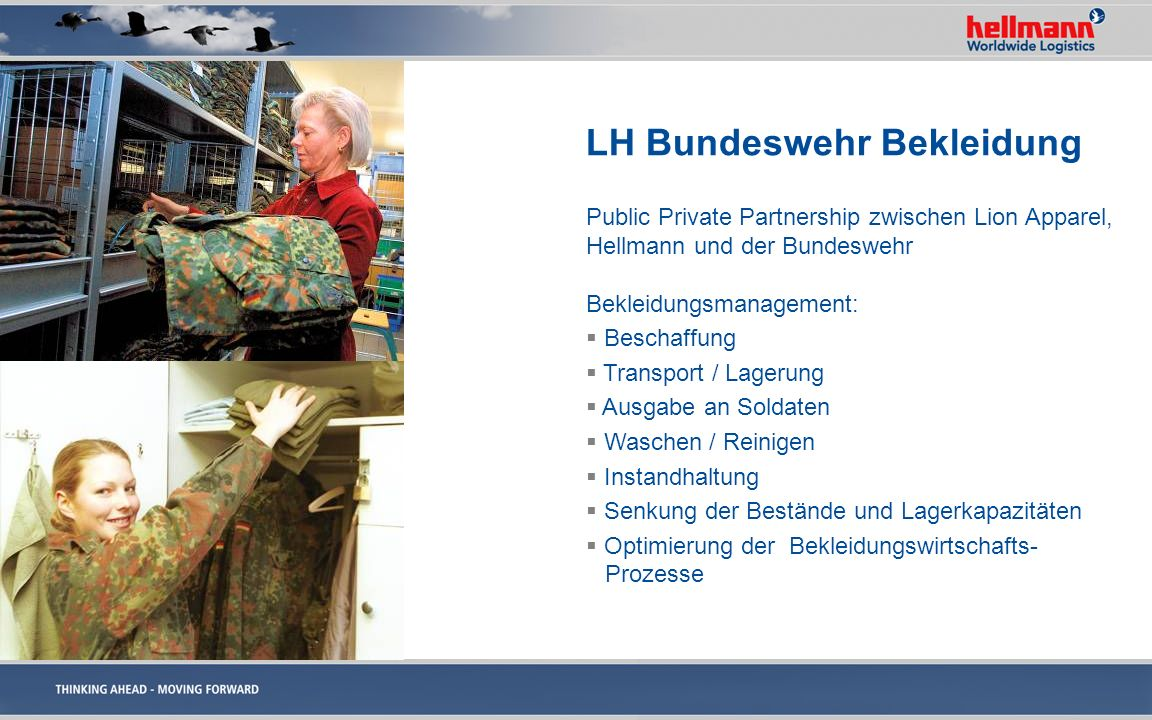 LH Bundeswehr Bekleidung