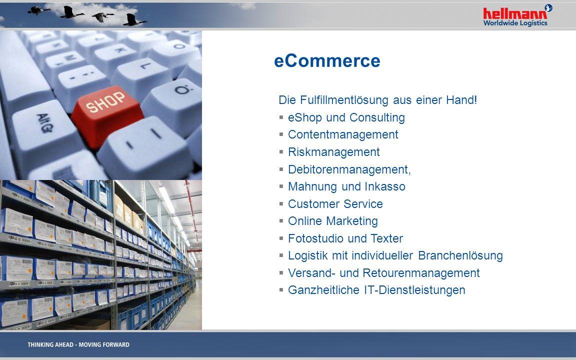 eCommerce Die Fulfillmentlösung aus einer Hand! eShop und Consulting