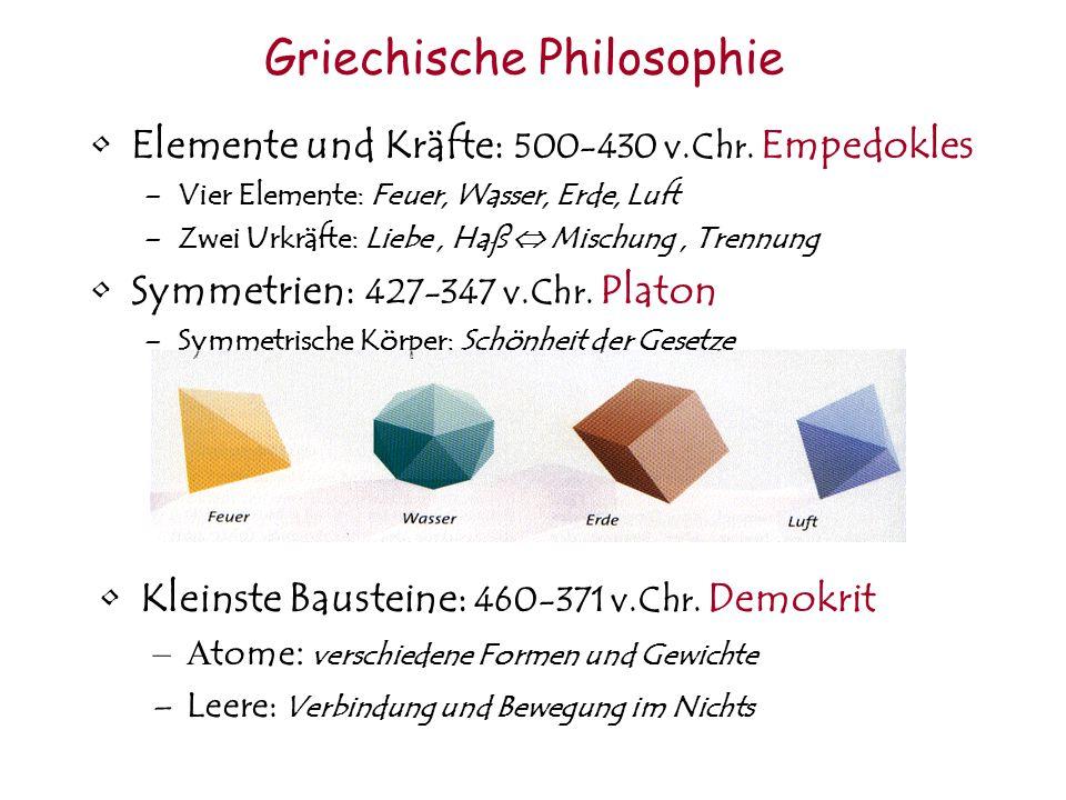 Griechische Philosophie