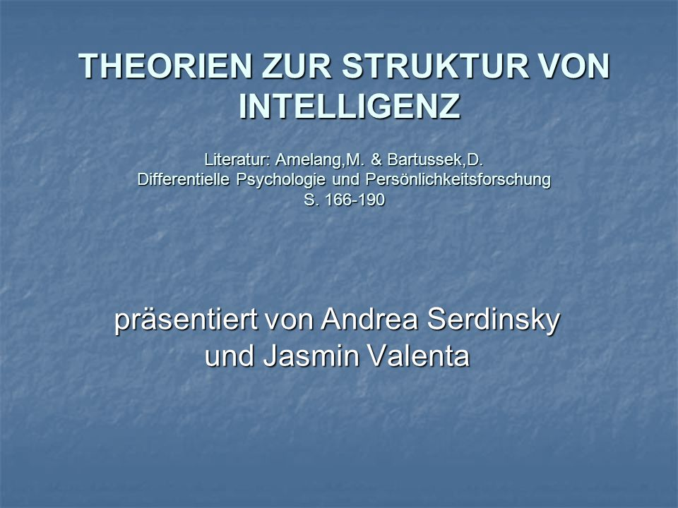 präsentiert von Andrea Serdinsky und Jasmin Valenta