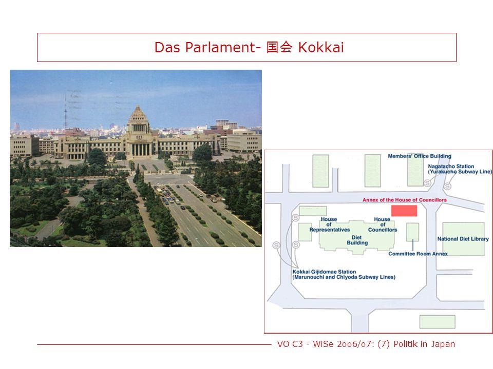 Das Parlament- 国会 Kokkai
