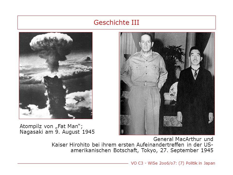 """Geschichte III Atompilz von """"Fat Man ; Nagasaki am 9. August 1945"""