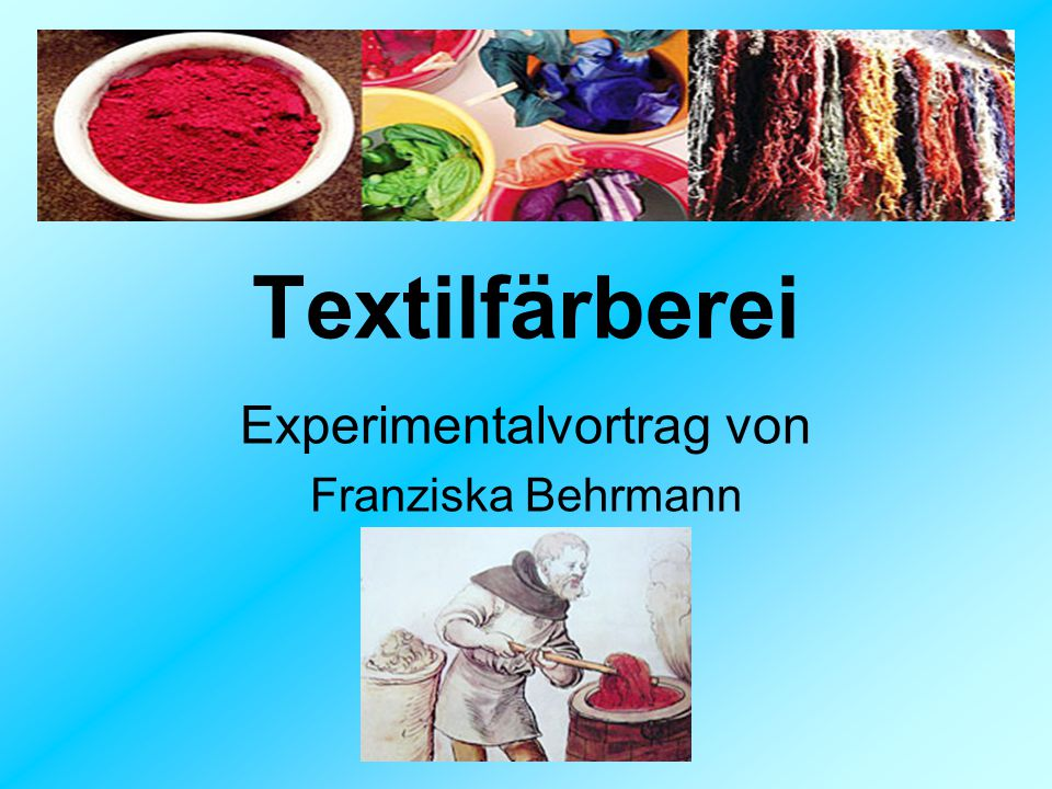 Experimentalvortrag von Franziska Behrmann