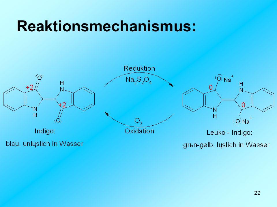 Reaktionsmechanismus: