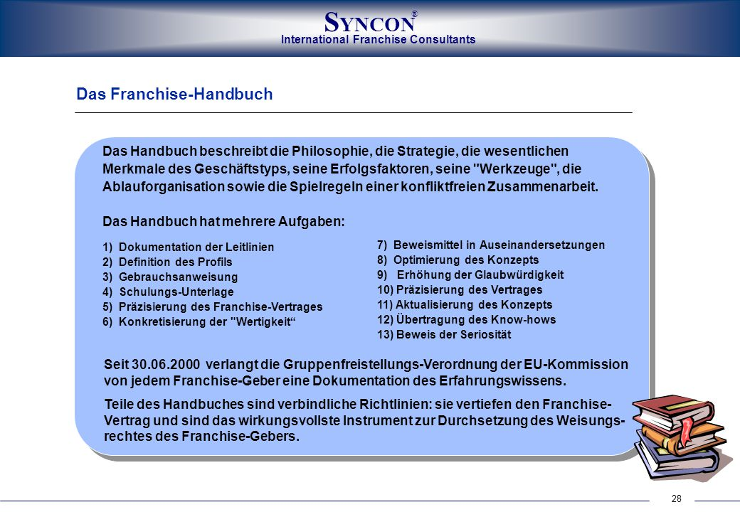 Das Franchise-Handbuch