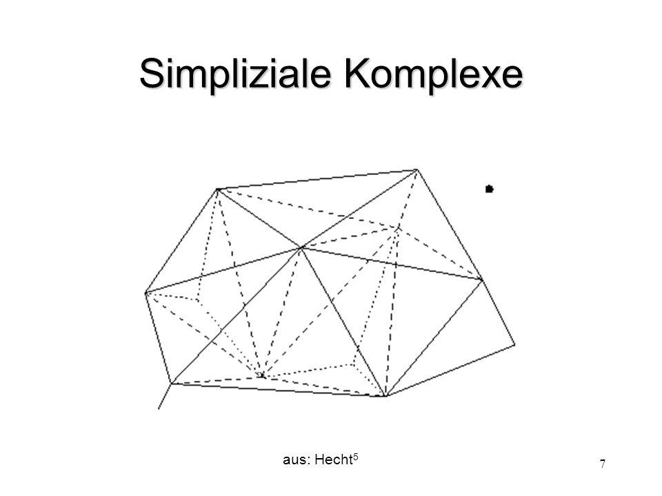 Simpliziale Komplexe aus: Hecht5