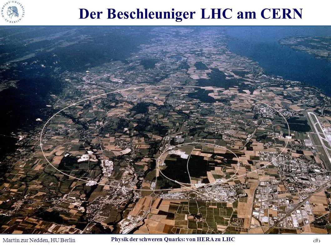 Der Beschleuniger LHC am CERN