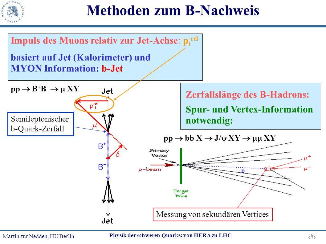 Methoden zum B-Nachweis