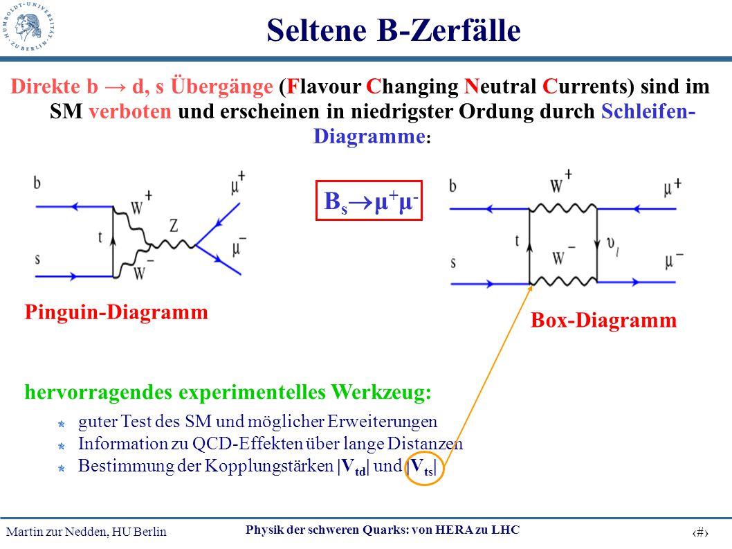 Seltene B-Zerfälle Bsμ+μ-