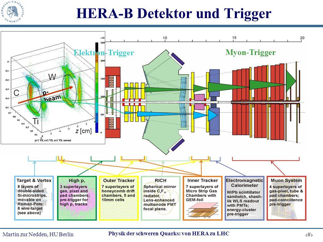 HERA-B Detektor und Trigger