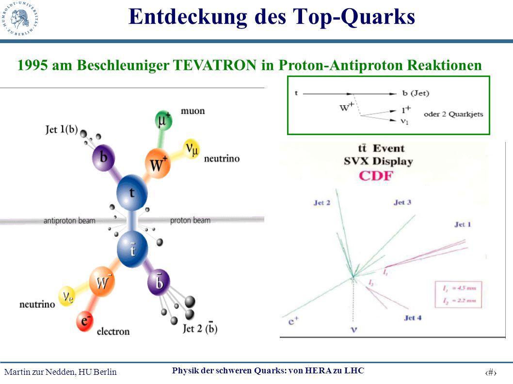 Entdeckung des Top-Quarks