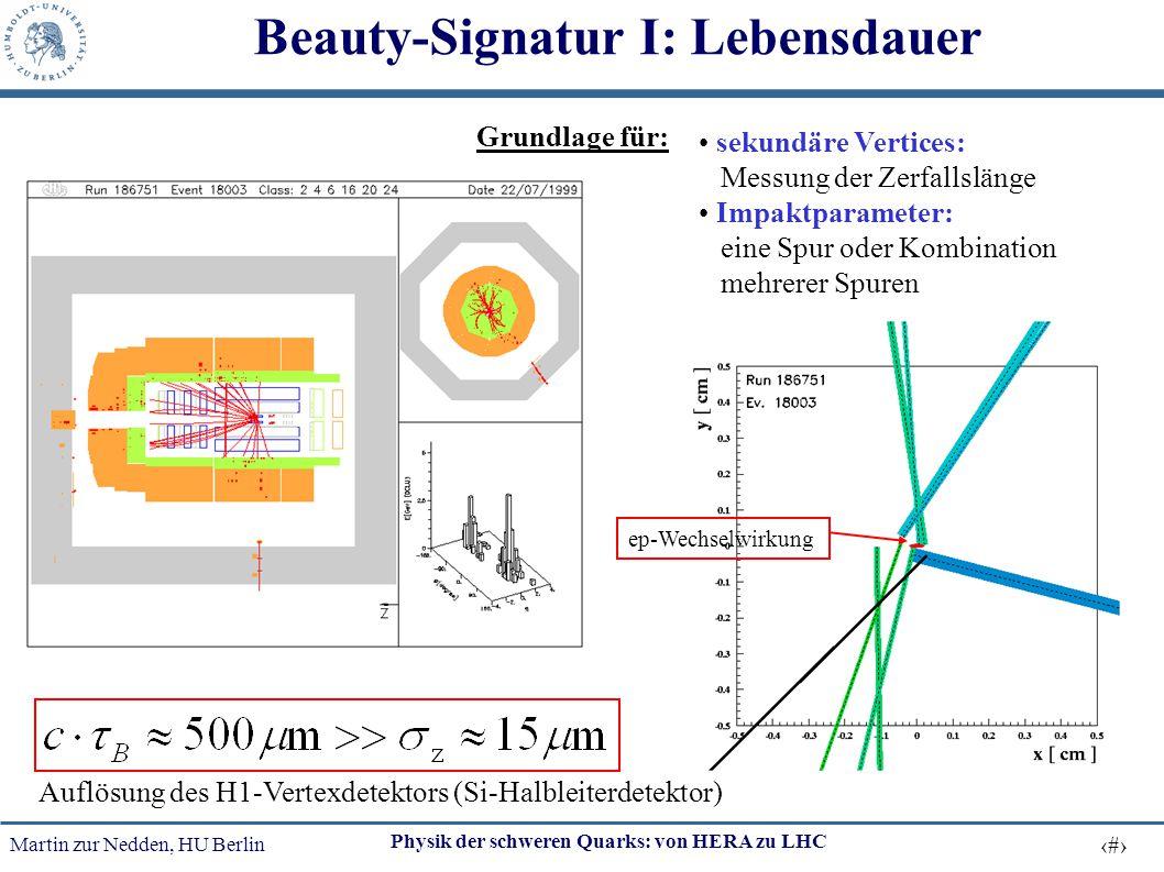 Beauty-Signatur I: Lebensdauer