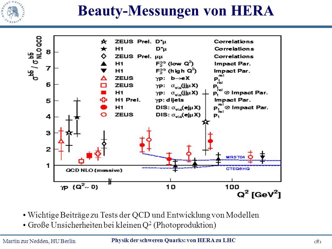 Beauty-Messungen von HERA