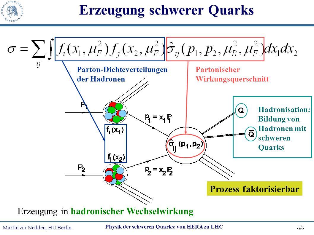 Erzeugung schwerer Quarks