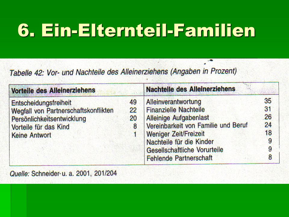6. Ein-Elternteil-Familien