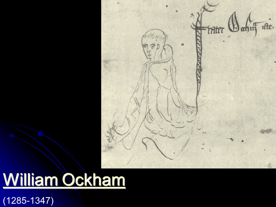 Franziskaner, studiert in London, dann in Oxford