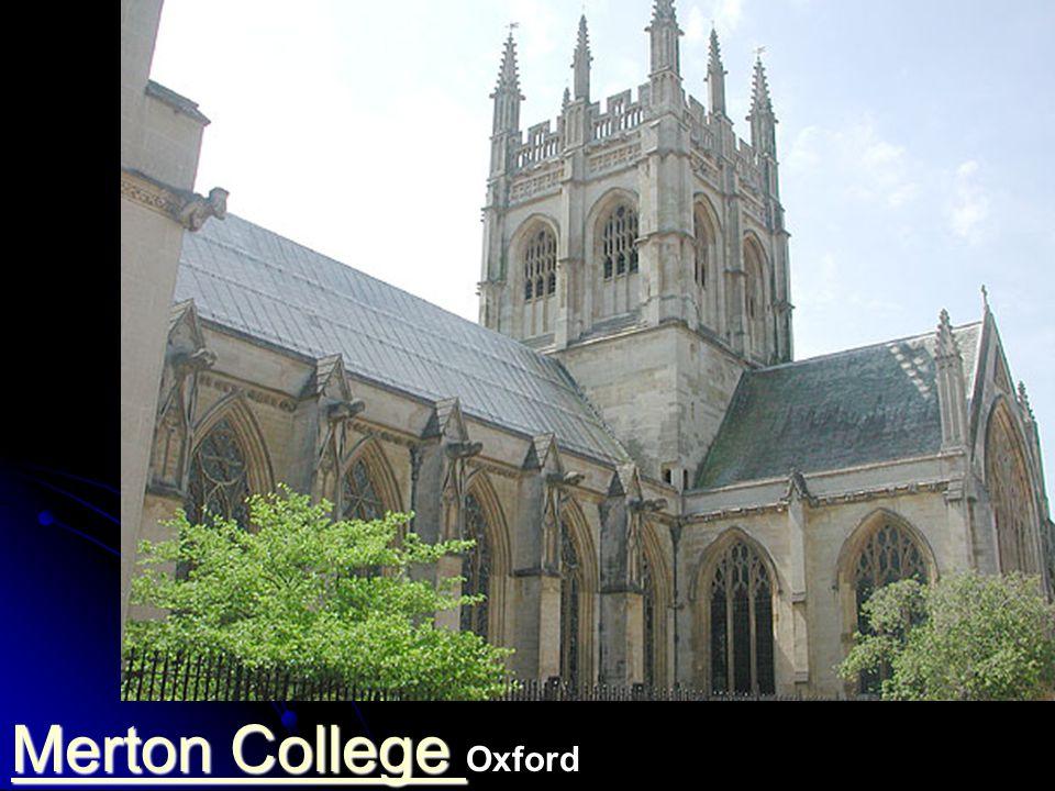 Merton College Oxford (berühmte Schule in Rivalität zu Paris) älteste durchgehend betrieben Bibliothek der Welt. Gegründet 1264. Bibliothek 1276..