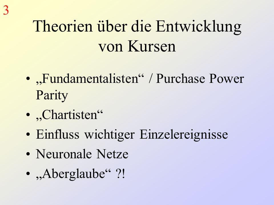 Theorien über die Entwicklung von Kursen