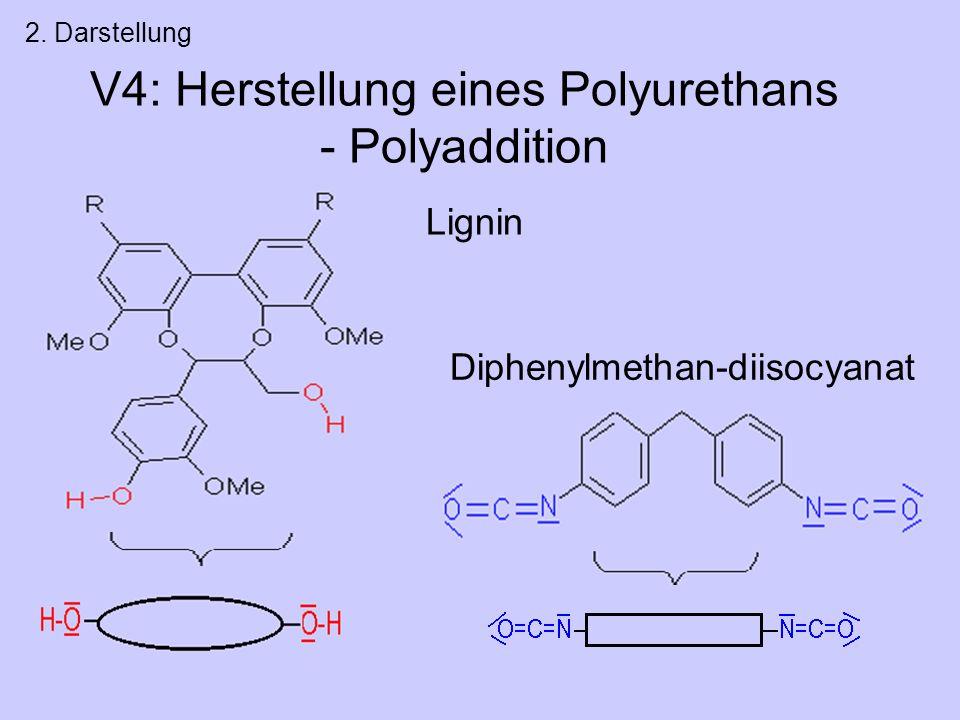 V4: Herstellung eines Polyurethans - Polyaddition