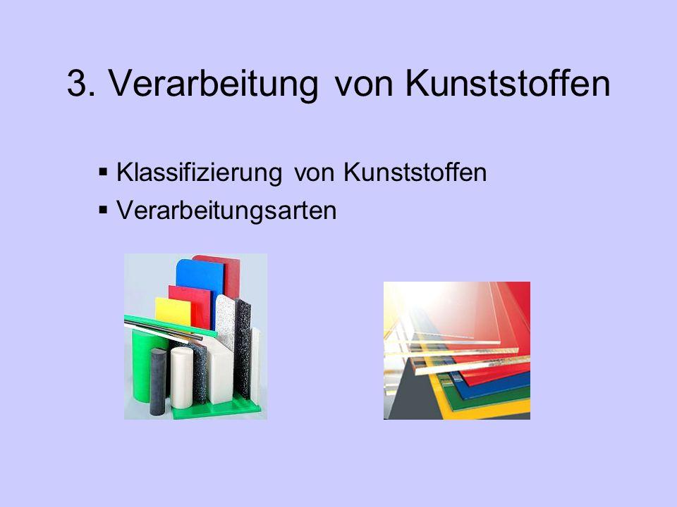 3. Verarbeitung von Kunststoffen