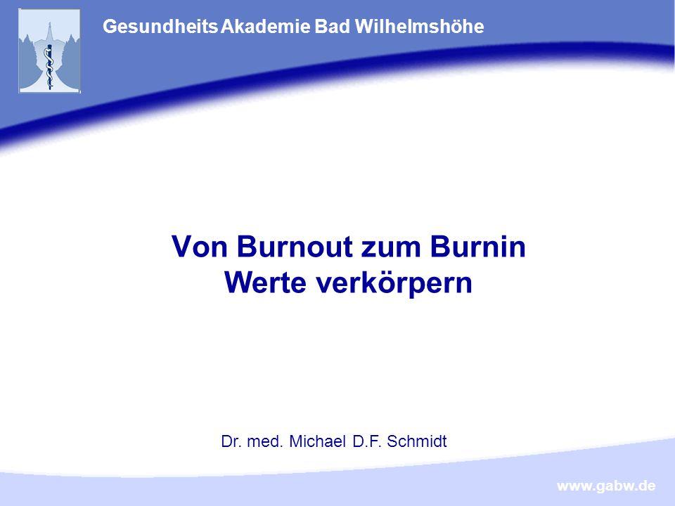 Von Burnout zum Burnin Werte verkörpern