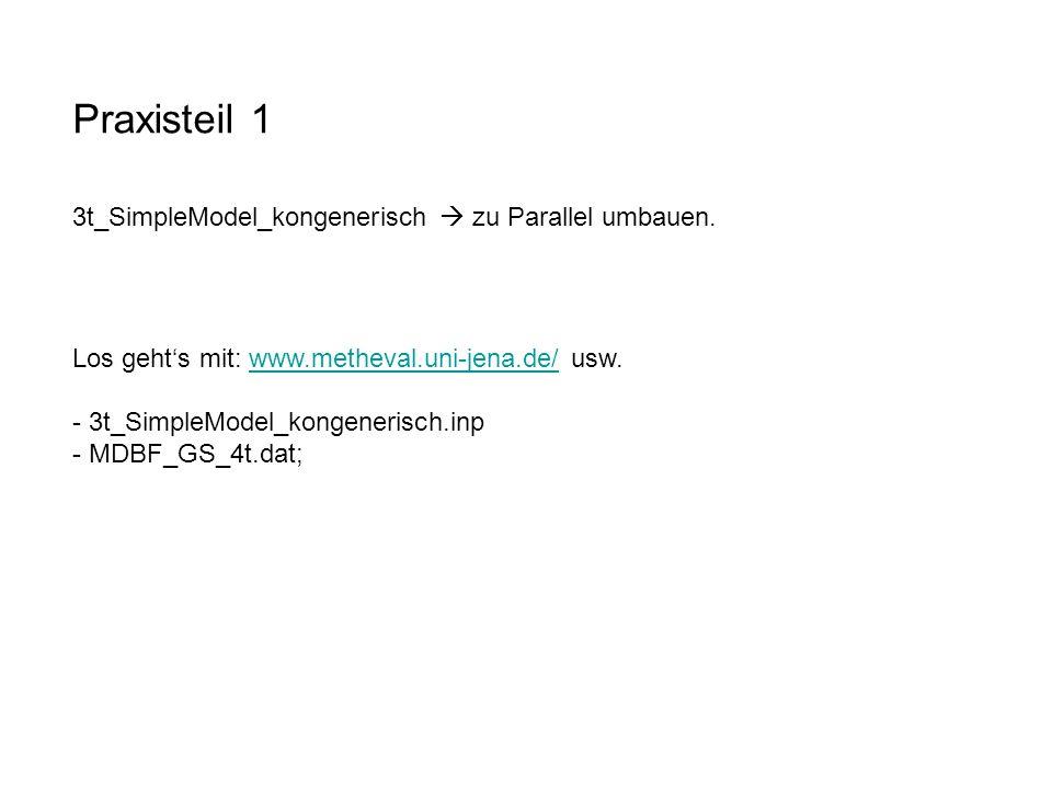 Praxisteil 1 3t_SimpleModel_kongenerisch  zu Parallel umbauen.