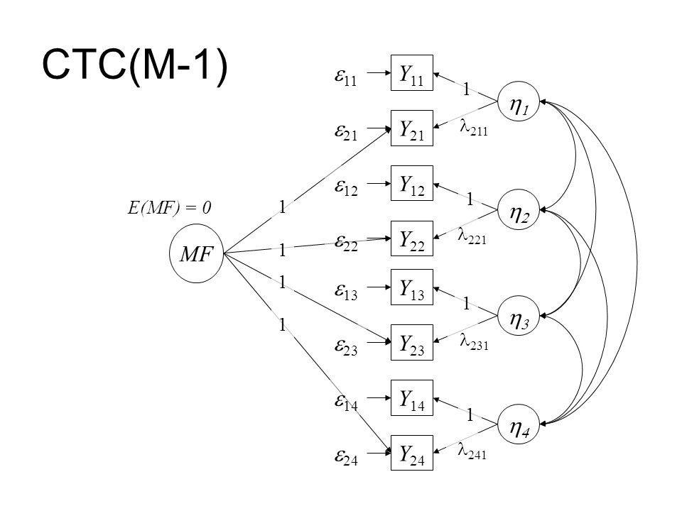 CTC(M-1) e11 Y11 1 e21 Y21 e12 Y12 2 MF e22 Y22 e13 Y13 3 e23 Y23